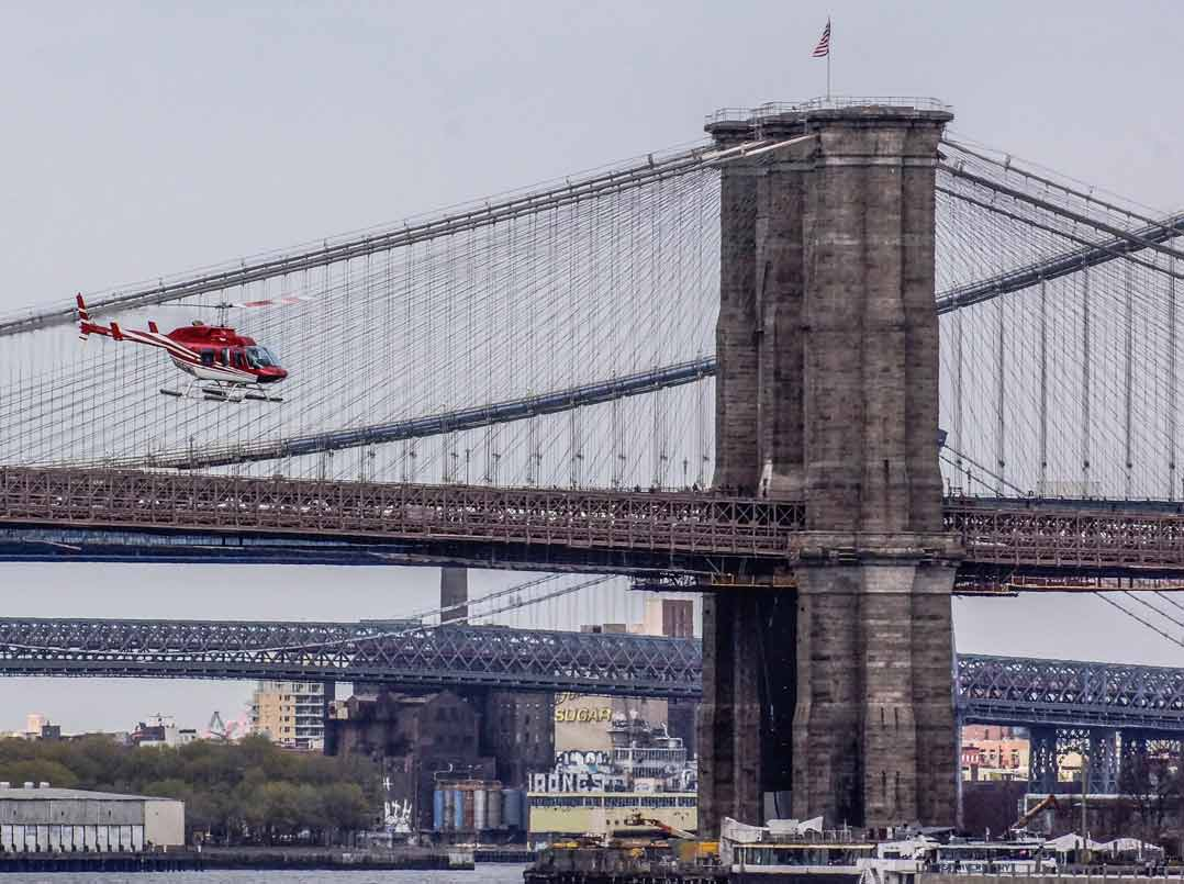 Helikopterflug in New York – Sightseeing aus der Luft