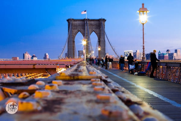 Le pont de Brooklyn par Sandra Marusic