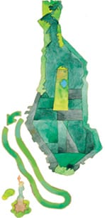 Carte Statue de la Lib.