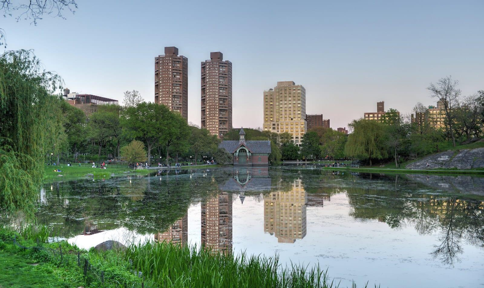 Harlem Meer, Central Park, New York