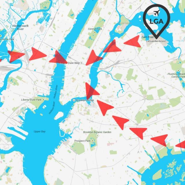Transfer vom Flughafen in New York nach Manhattan