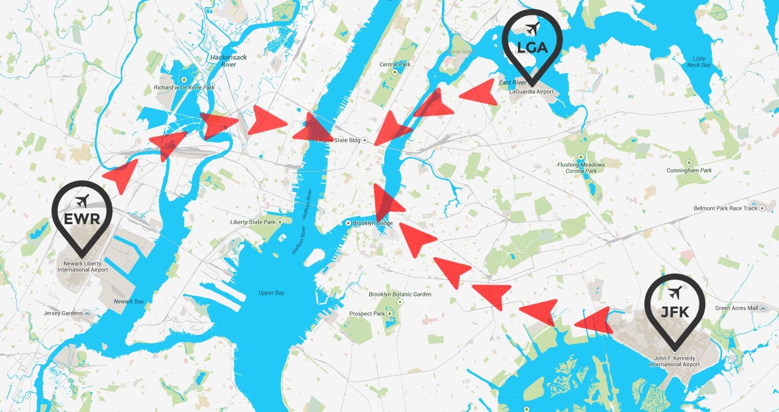 Wie komme ich vom Flughafen nach Manhattan?