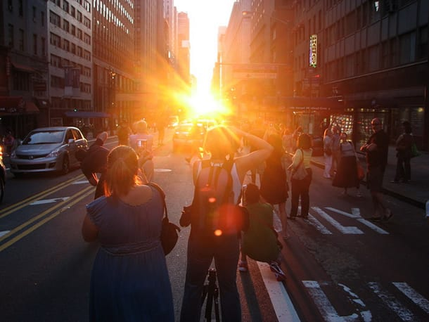 Manhattanhenge by FlickR-User 4rilla