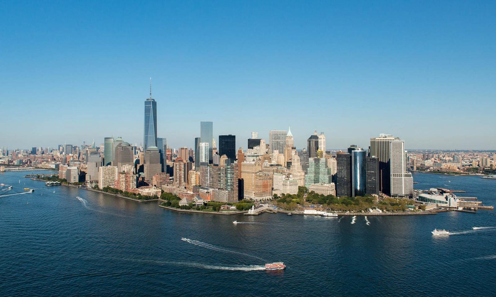 One World Trade Center 3 Am Ground Zero In New York