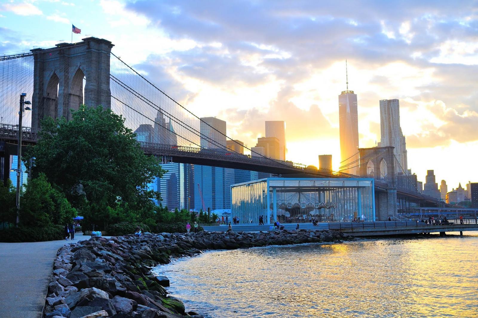 One World Trade Center von Brooklyn