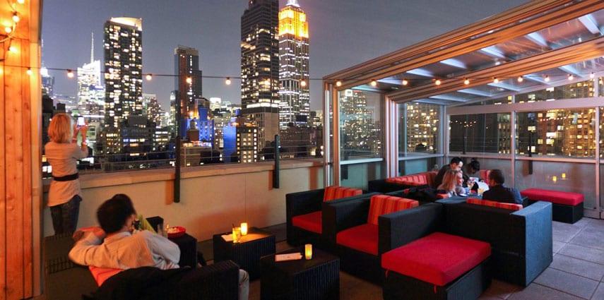 Rooftop Bars Hells Kitchen