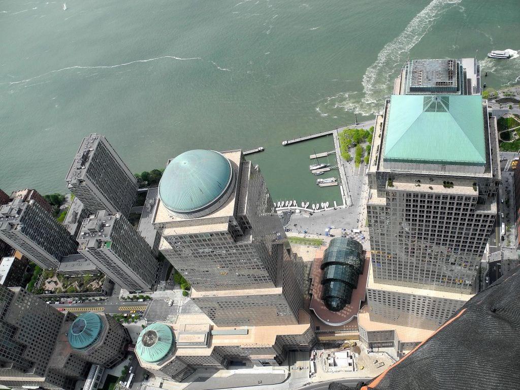 Einzigartige Bilder vom 90. Stockwerk des One World Trade Center