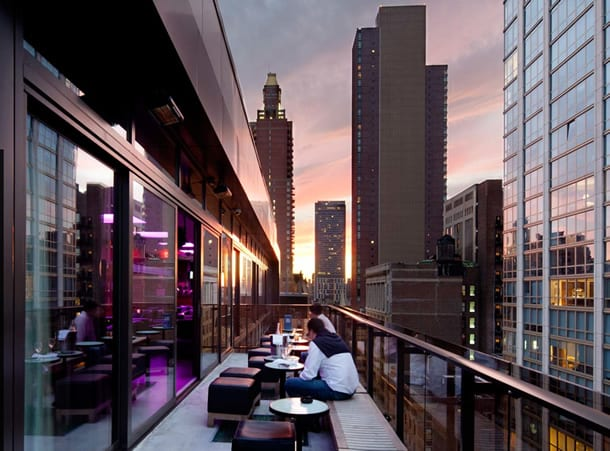 Gansevoort Park Avenue NYC Rooftop Balcony