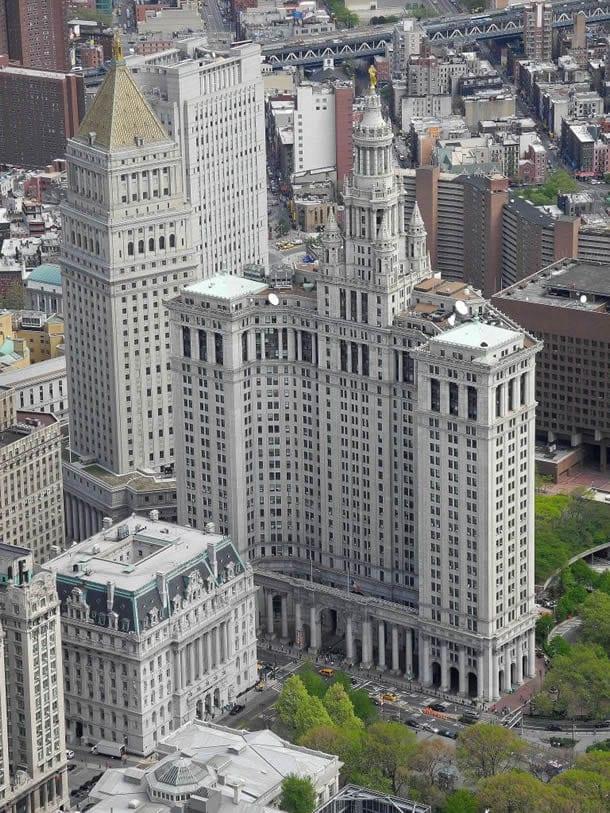 Municipal Building mit US Courthouse Building
