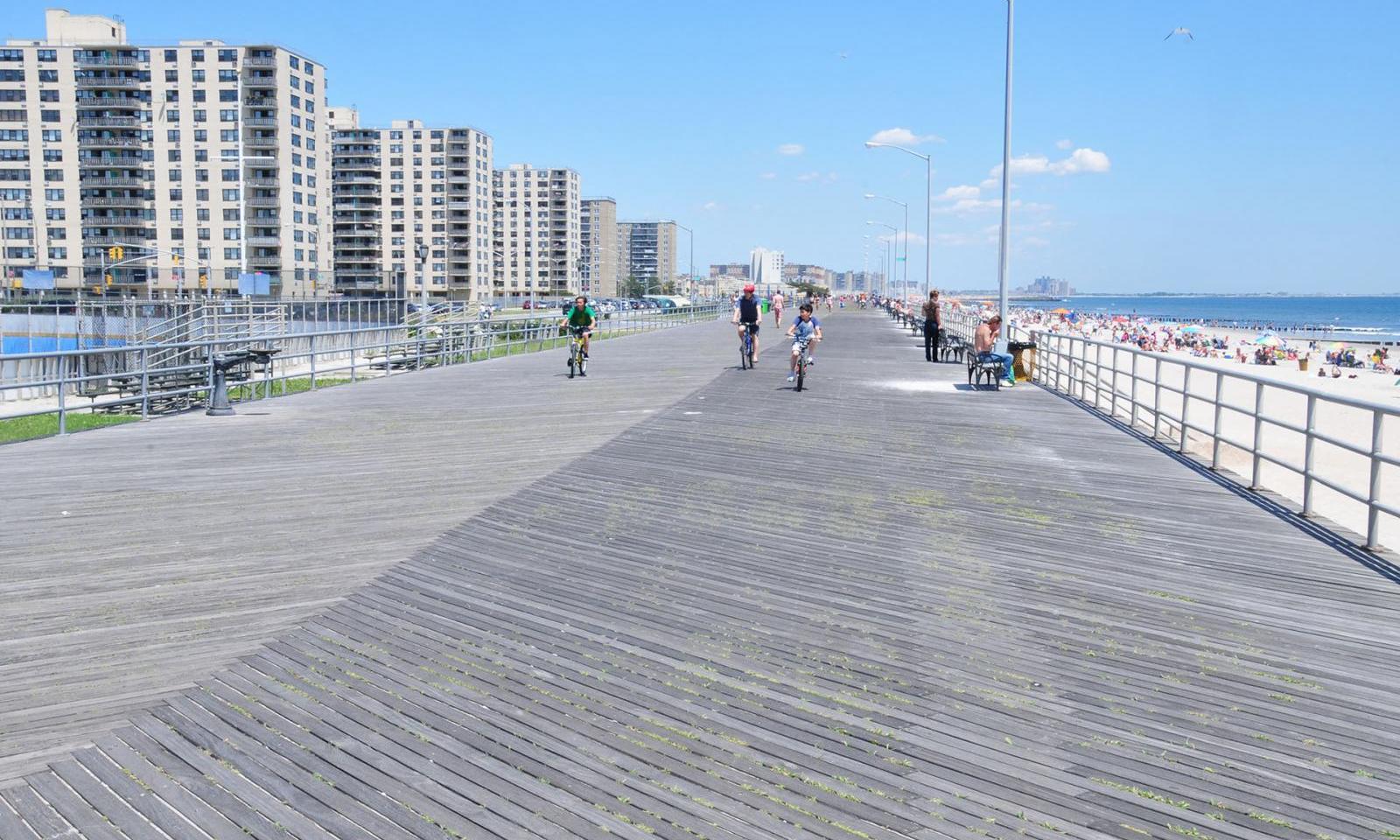 Rockaway Beach, New York.