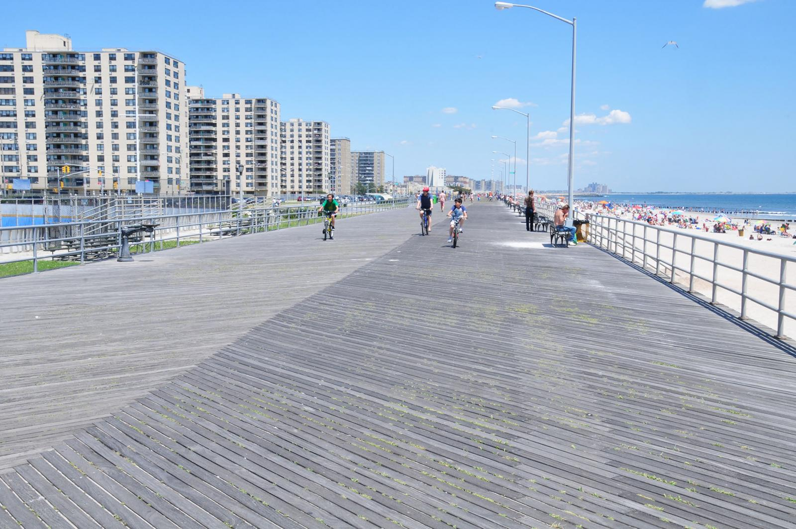 Rockaway Beach, New York.