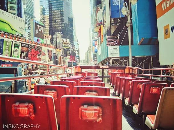 Bus-Tour / Busfahrt durch New York