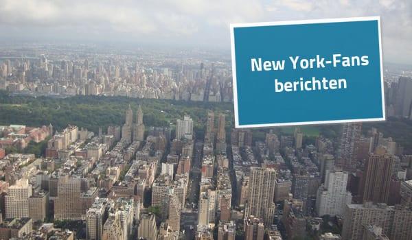 Eindrücke vom Helikopterflug über New York