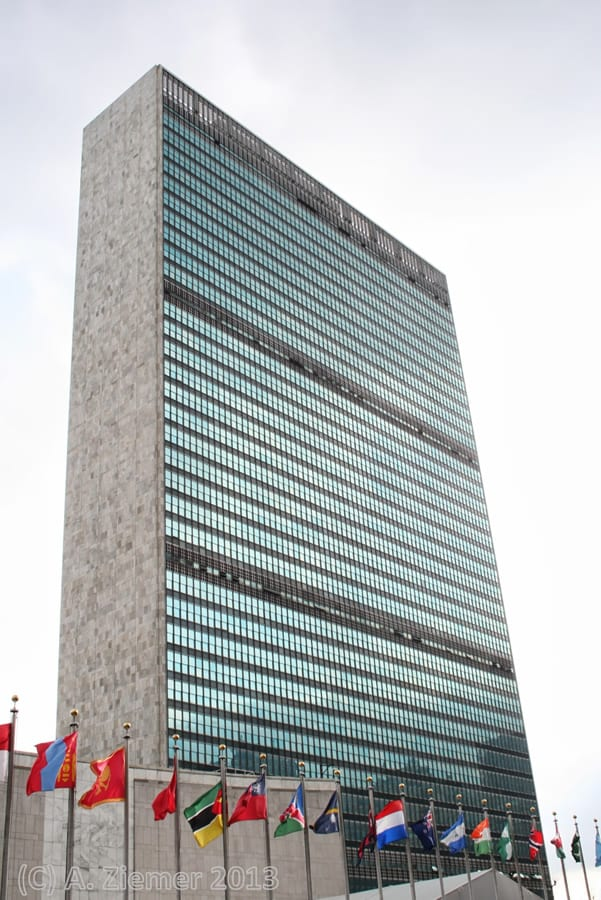 Andreas-Ziemer-New-York-East River – United Nations Building