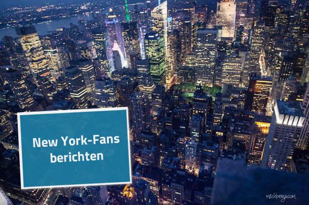 Reisebericht New York 2013 von Michael