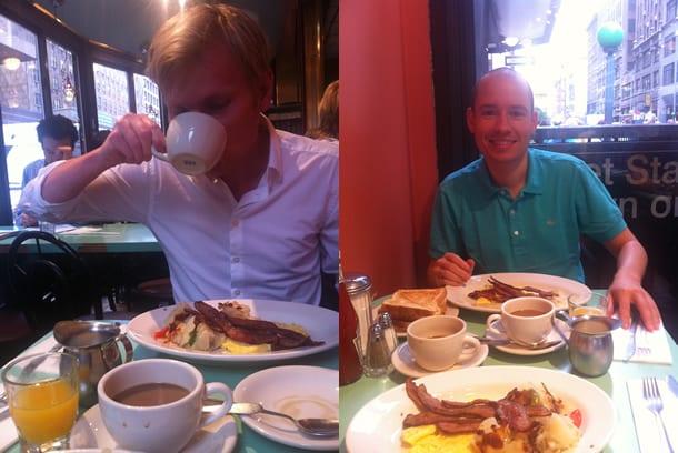 unser perfekter tag in new york beginnt im murray hill diner