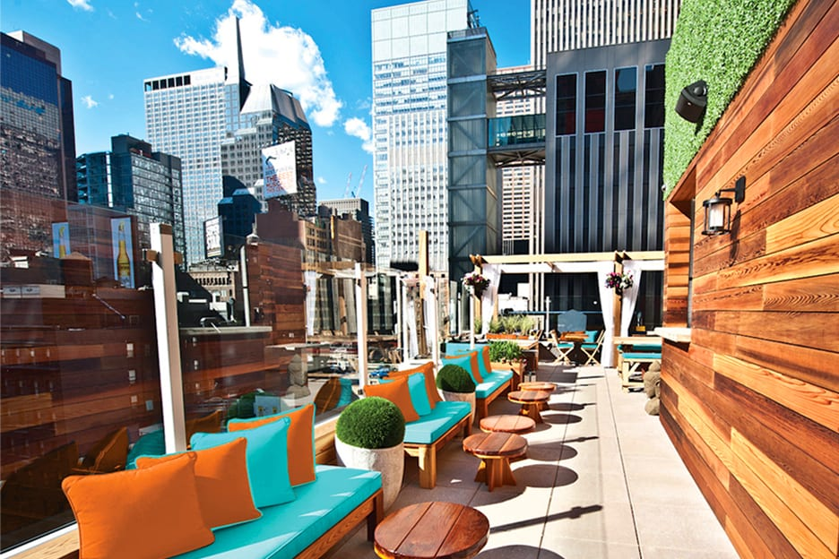 Haven Rooftop Bar New York 02