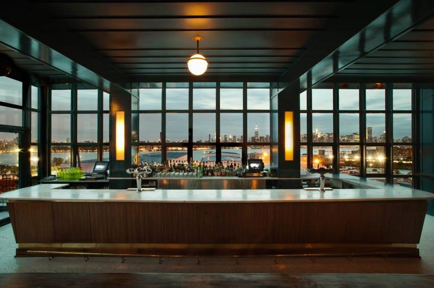 Rooftopbar Wythe Hotel
