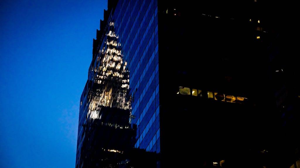 Mein Bild der Woche: Chrysler & Lesser Building