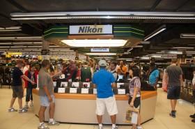 Nikon-Stand im B&H Geschäft