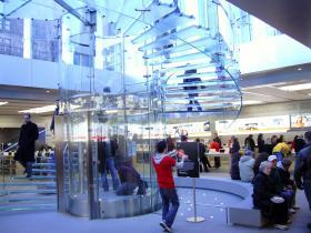 Apple Store innen