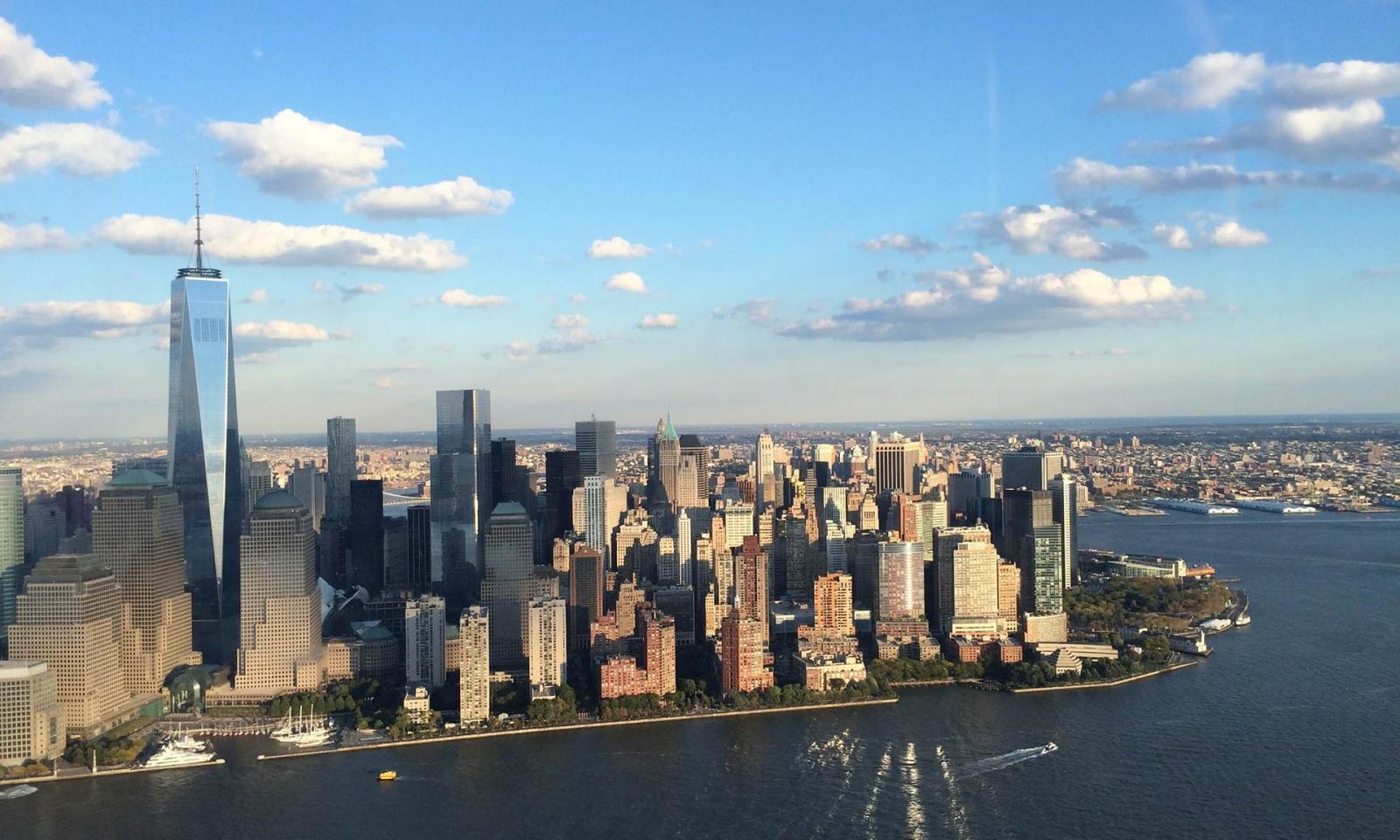 Island New York Flug