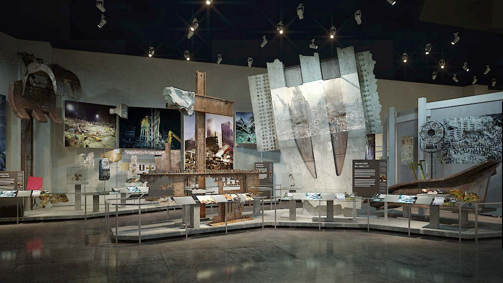 ausstellungsstücke im 9/11 memorial museum