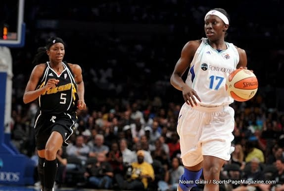 New York Liberty Spielerinnen