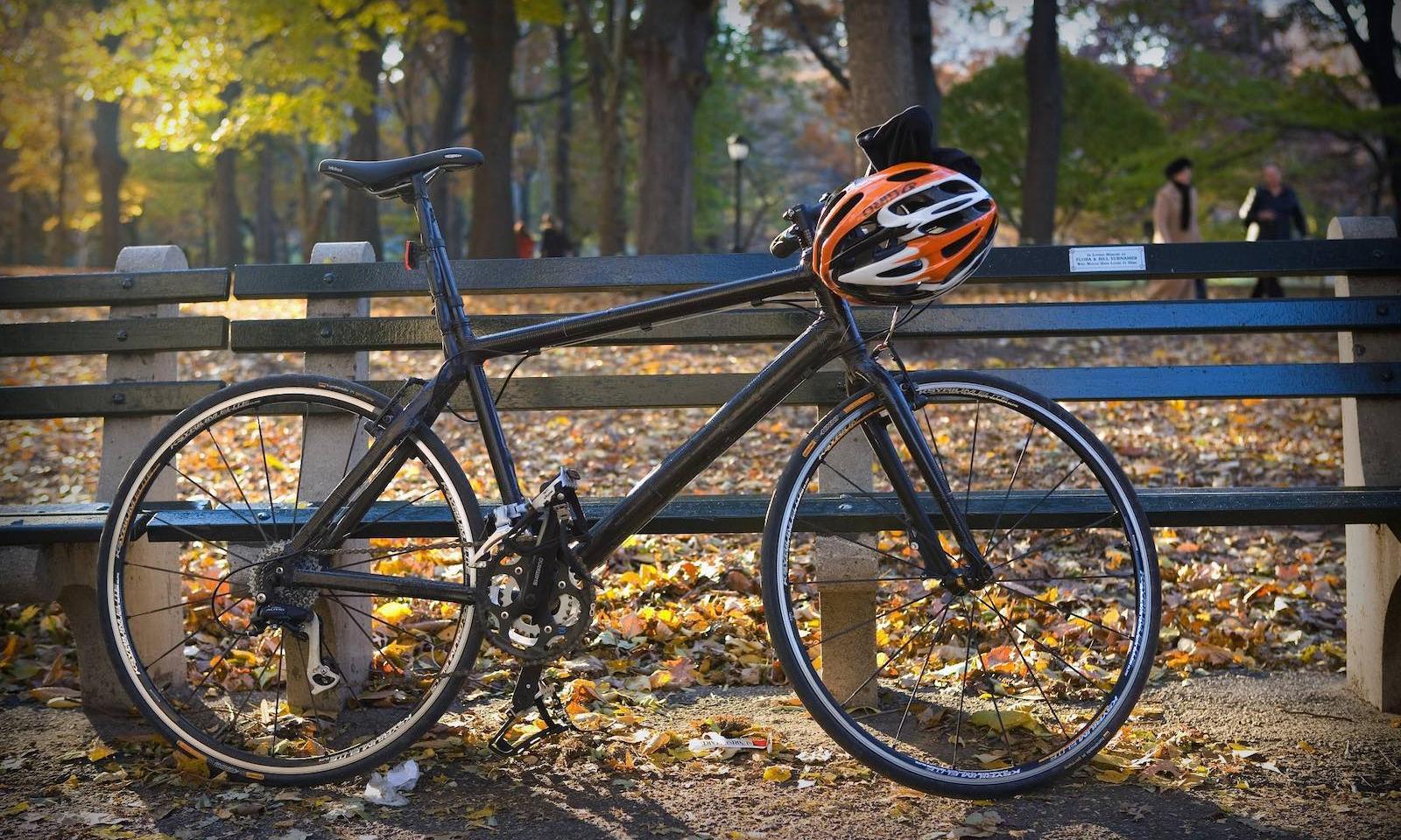 Fahrrad im Central Park