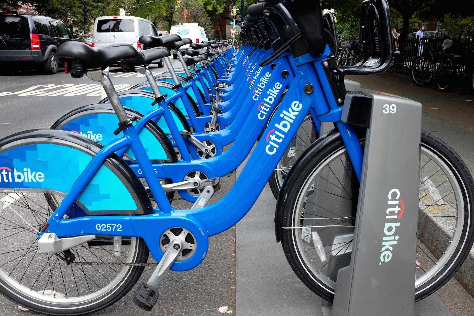 Fahrradtour in New York