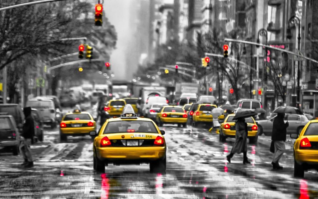 New York Probleme: schlechtes Wetter im Big Apple