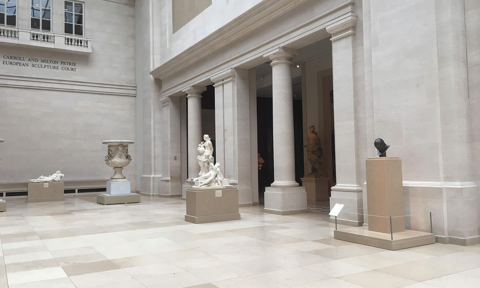 Das Metropolitan Museum in New York