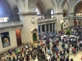 Das Metropolitan Museum in New York
