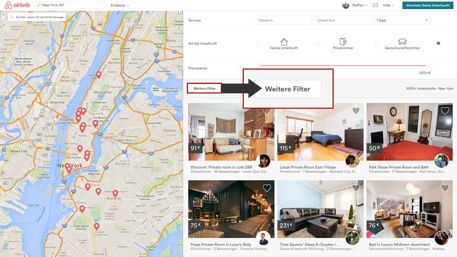 airbnb-newyork-suche