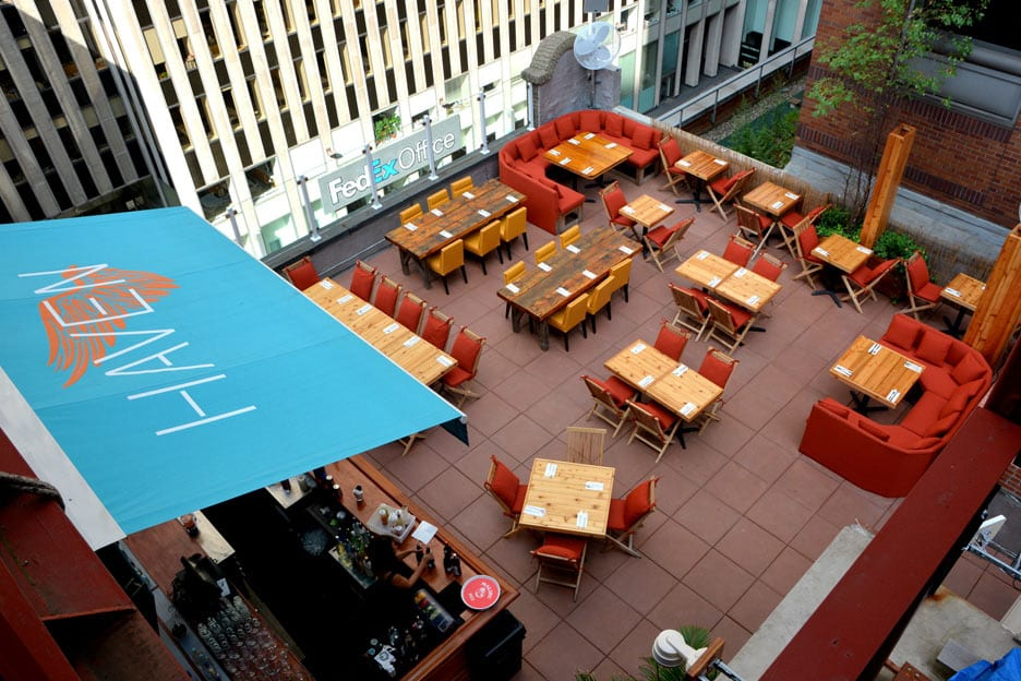 Rooftop Bars Nyc >> Haven Rooftop & Restaurant am Times Square New York