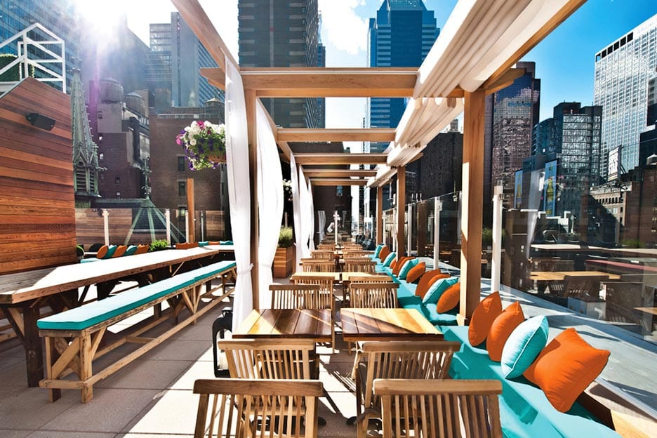 haven rooftop bar in new york