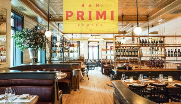 Italienischer Geheimtipp: die Bar Primi in der Bowery