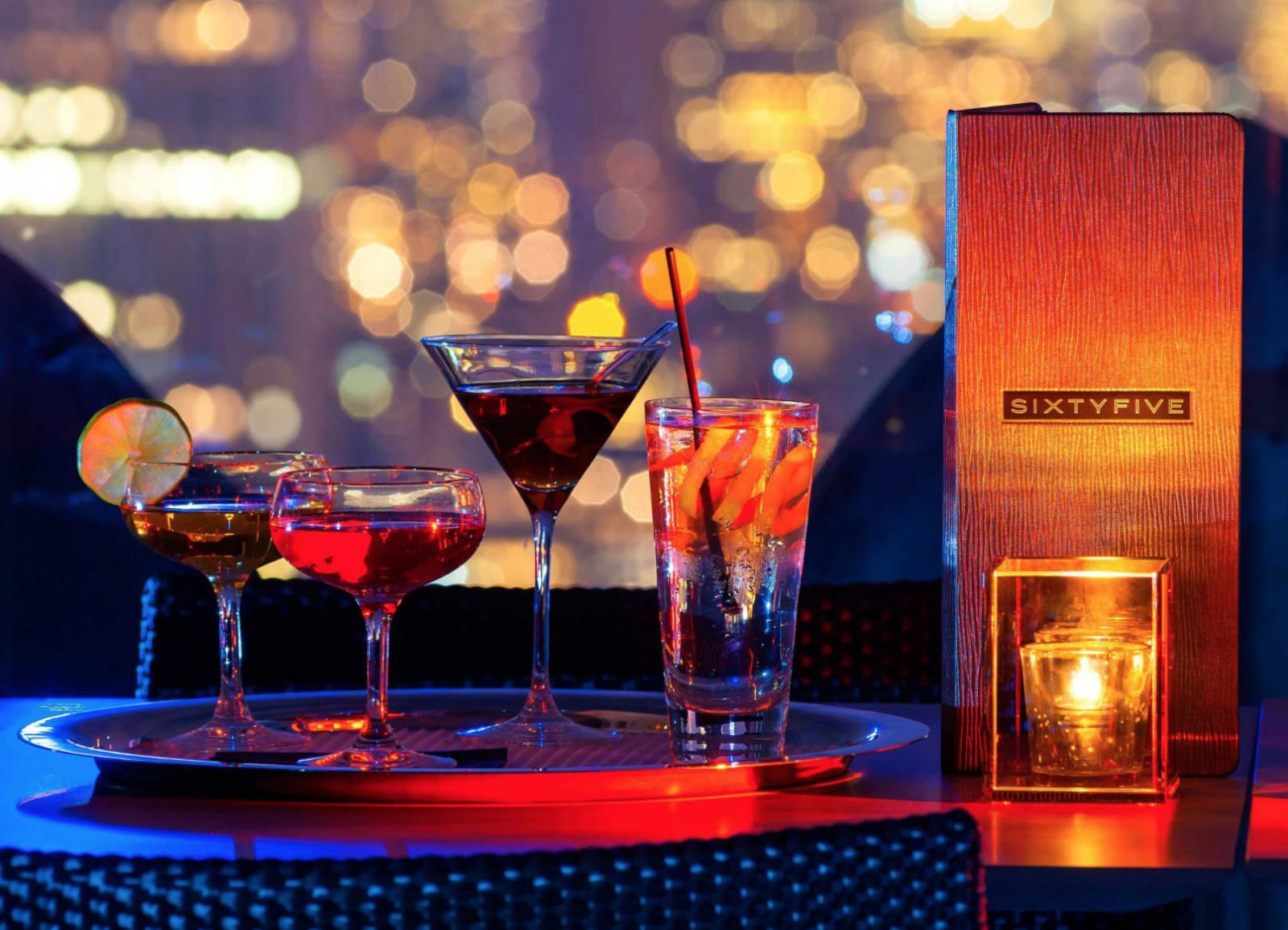 SixtyFive Bar und Rooftop-Lounge im legendären Rainbow Room