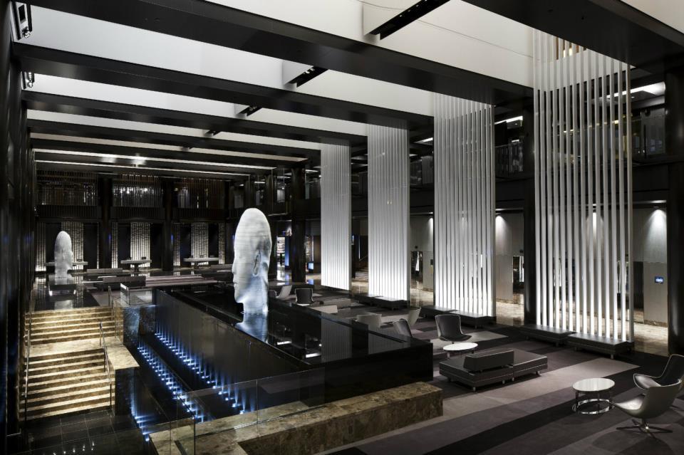 Lobbybereich im Grand Hyatt Hotel
