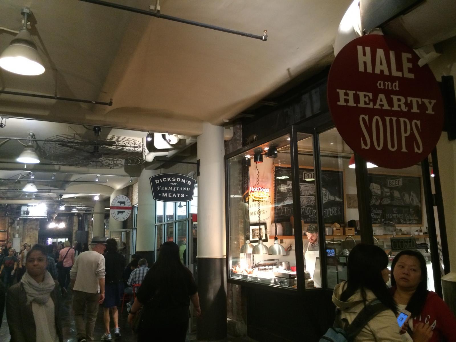 Dickson's Farmstand im Chelsea Market
