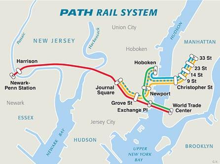 Von New Jersey nach New York. Das NJ Transit System. Tipps ...