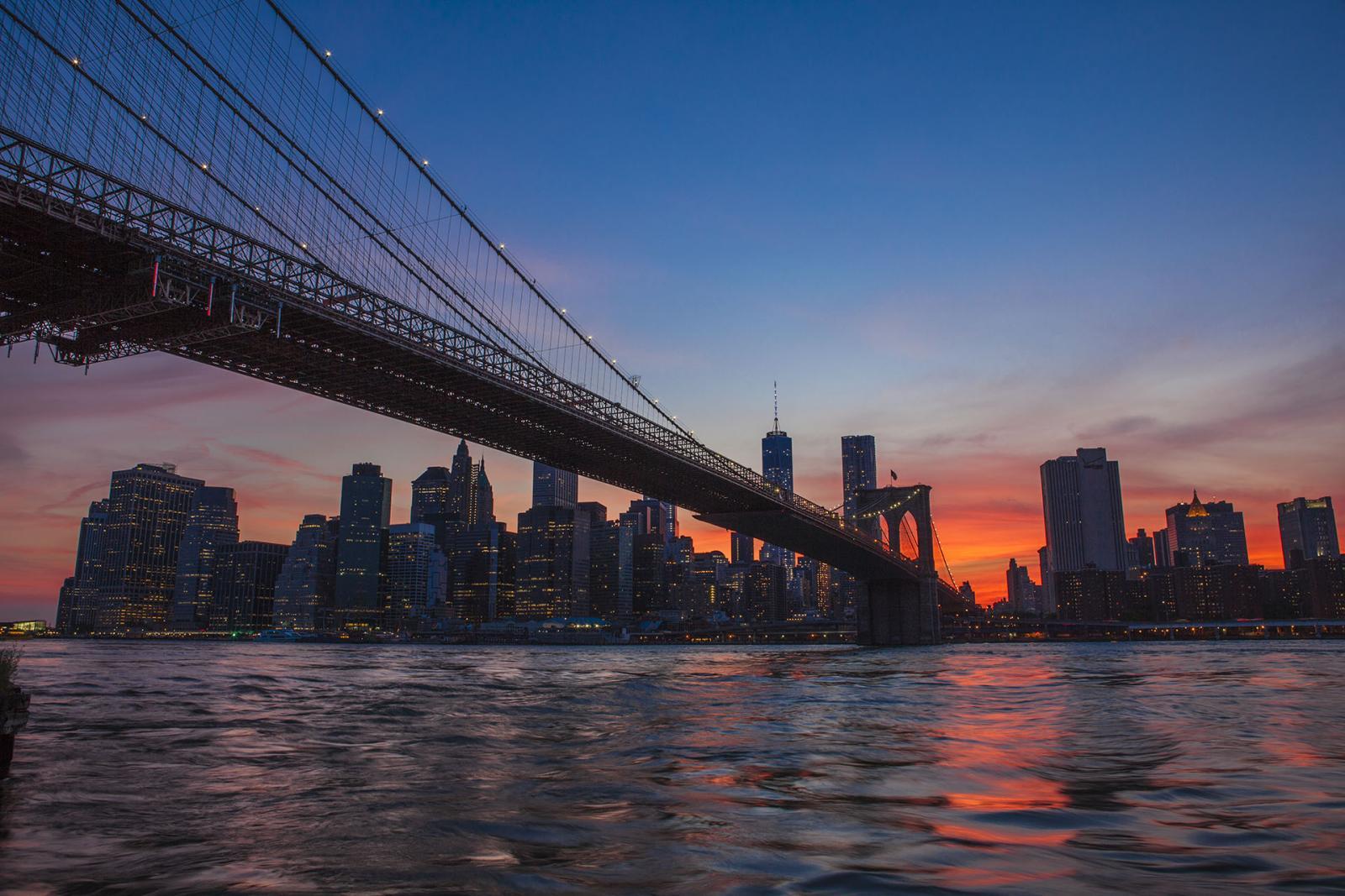 Bootsfahrt New York in der Abenddämmerung: Twilight Tour