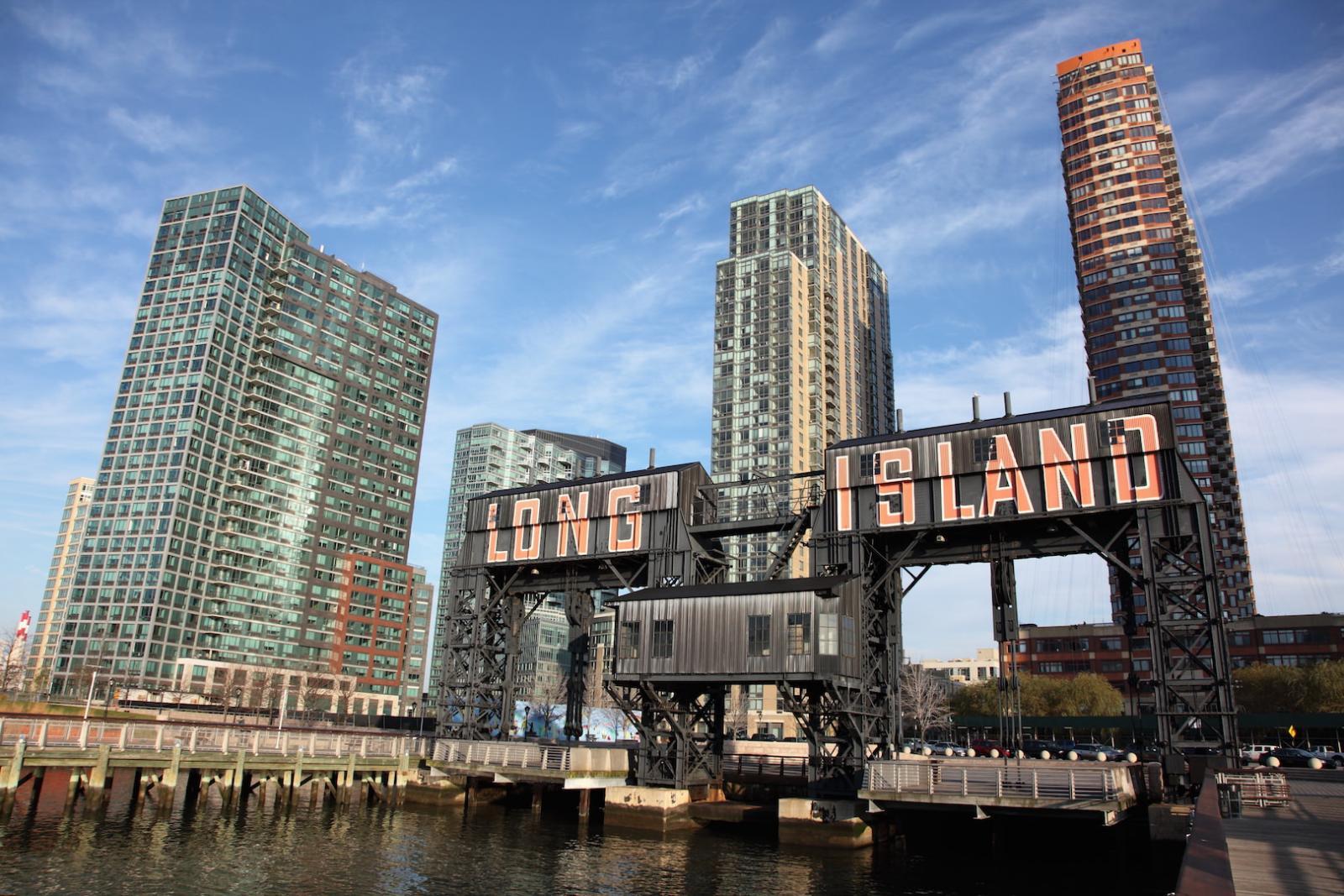 Long Island City in Queens erschafft die Kunst von morgen