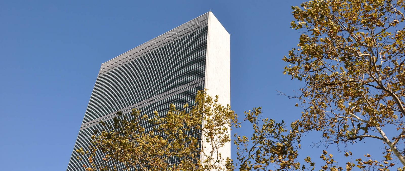 United Nations Headquarter am East River