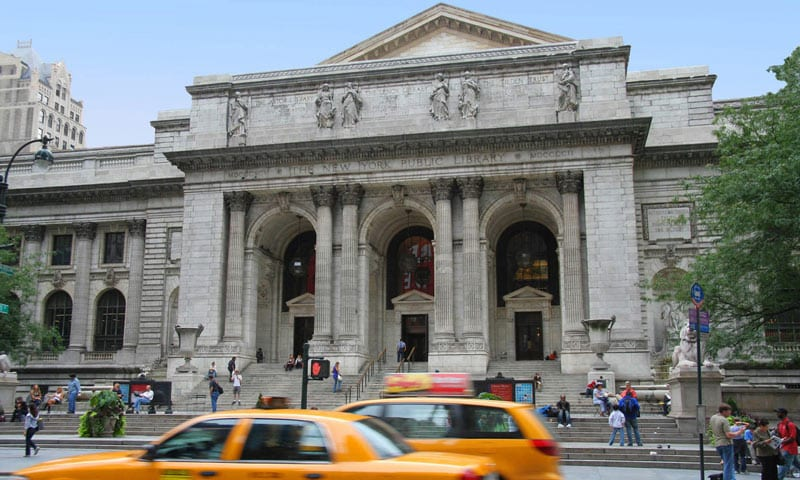 Die New York Public Library von aussen
