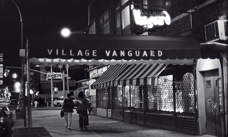 Eines der New York Highlights für Jazz-Fans: Village Vanguard Club in New York aussen