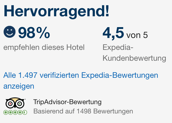 The Strand Hotel Hotelbewertung