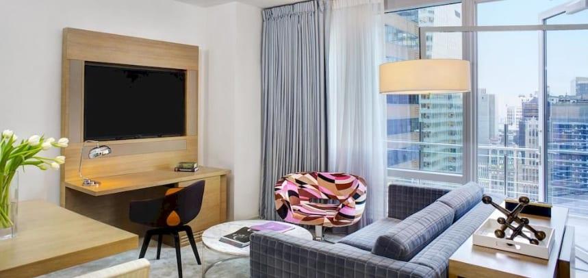 Hyat Hotel con vistas a Times Square, Nueva York