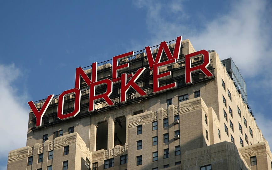 New York Hotels mit tollem Ausblick: : The New Yorker