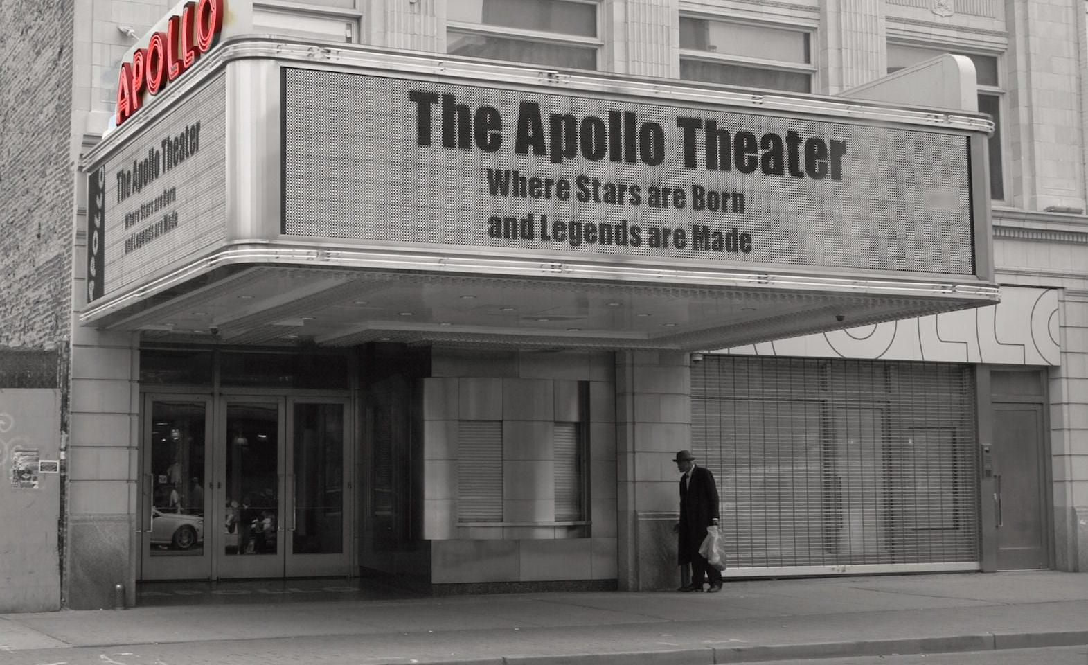 Das Apollo Theater in Harlem